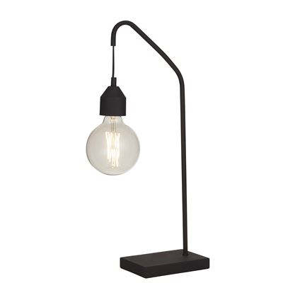 Floyd Table Lamp Matte Black 18X58Cm