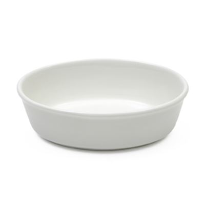 White Basics Pie Dish Oval 18Cm