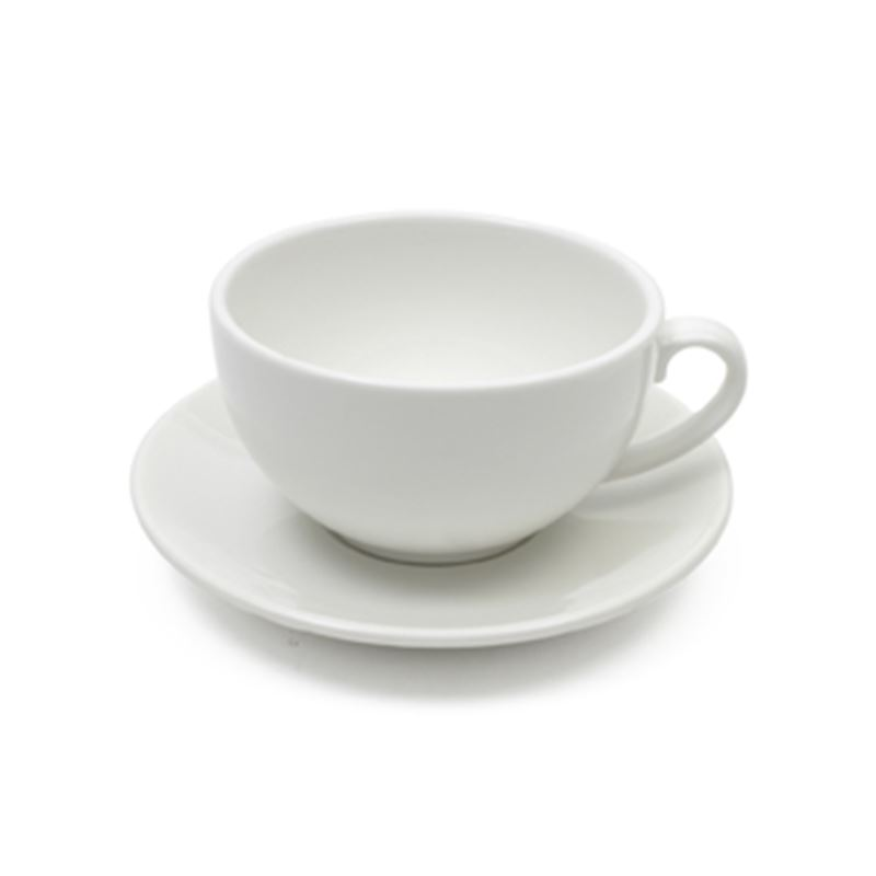 White Basics Cappuccino Cup & Saucer 320Ml