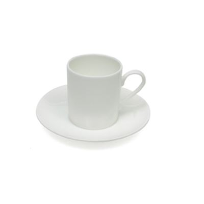 Cashmere Straight Demi Cup & Saucer
